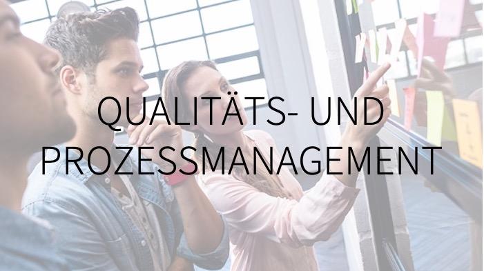 Prozessmanagement, Qualitätsmanagement