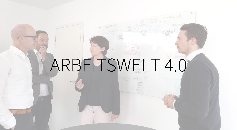 Arbeitswelt 4.0, neue Arbeit, Führung und Team